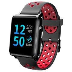 Смарт часы Qumann QSW 02 Black-Red