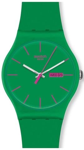 Купить Наручные часы Swatch SUOG704 GREEN REBEL по доступной цене