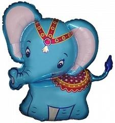 Слоненок (голубой) F 32