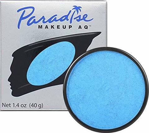 MEHRON Аквагрим сияющий Paradise, Dark Blue - Azur (Лазурный), 40 г