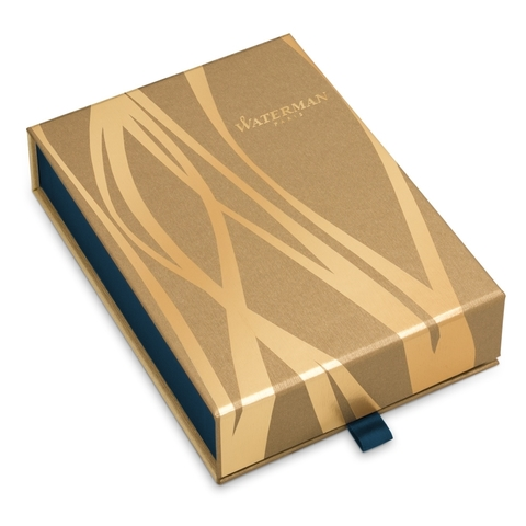 Набор с гравировкой: Чехол и Шариковая ручка Waterman Hemisphere Deluxe Privee, Rose CT123