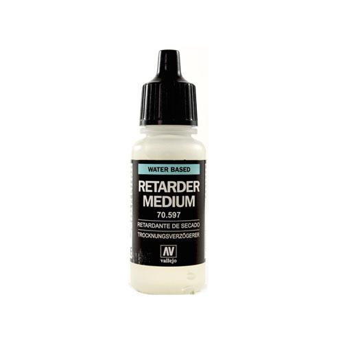 Вспомогальные жидкости 70597 Retarder Medium Замедляющее Связующее, 17мл Acrylicos Vallejo 70597.jpg