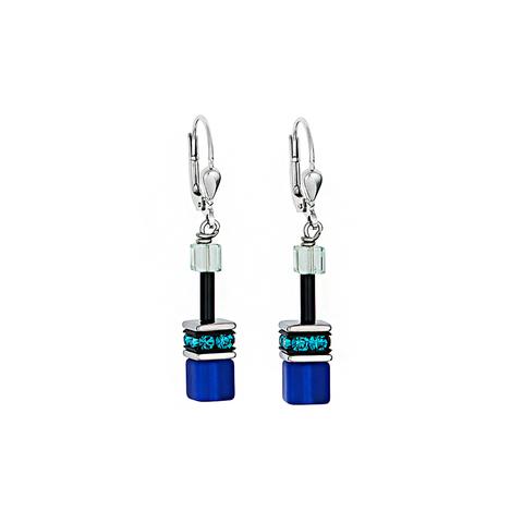 Серьги Coeur de Lion 2838/20-0705 цвет синий, голубой