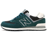 Кроссовки Мужские New Balance 574 Dark Green Grey White