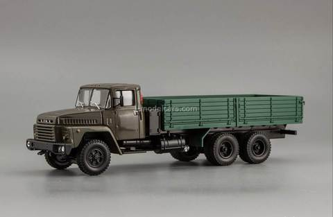 KRAZ-250 1977-1989 khaki-green 1:43 Nash Avtoprom