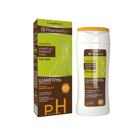 Compliment PharmaHair Шампунь от всех видов перхоти для мужчин