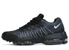 Кроссовки Мужские Nike Air Max 95 Black Grey Print