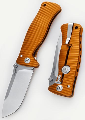 Нож LionSteel серии SR-1 рукоять желтая