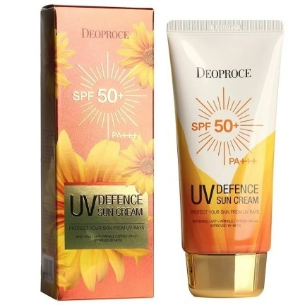 DEOPROCE UV Defence Sun Cream SPF 50++ PA++, 70g