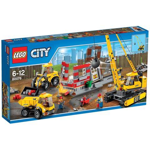 LEGO City: Снос старого здания 60076 — Demolition Site — Лего Город