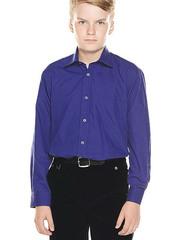 TH15-10 рубашка для мальчиков, синяя