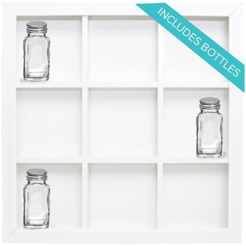 Органайзер We R Organization Gallery Shadow Box Frame -9-Opening Storage & Bottles