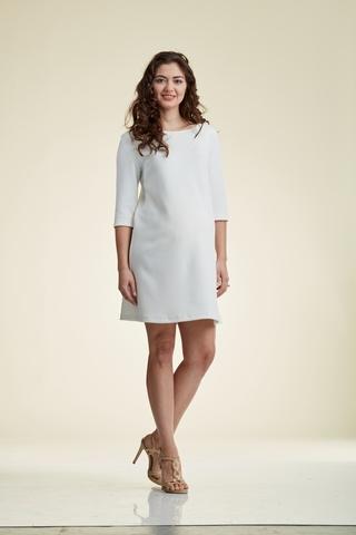 Платье 06188 белый
