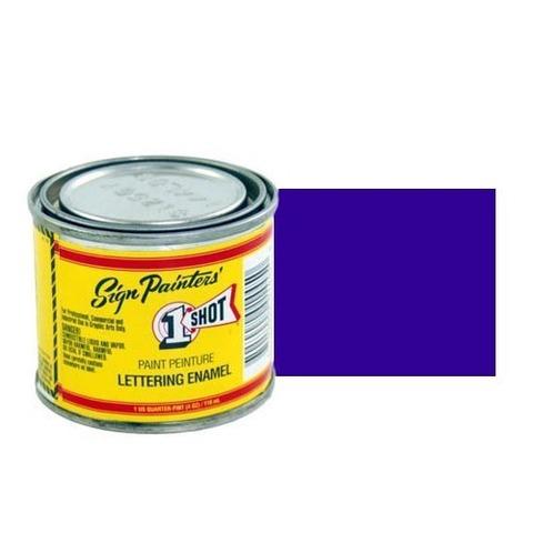 156-L Эмаль для пинстрайпинга 1 Shot Сапфирово-синий (Brilliant Blue), 118 мл