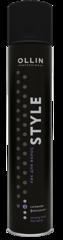 OLLIN style лак для волос сильной фиксации 500мл