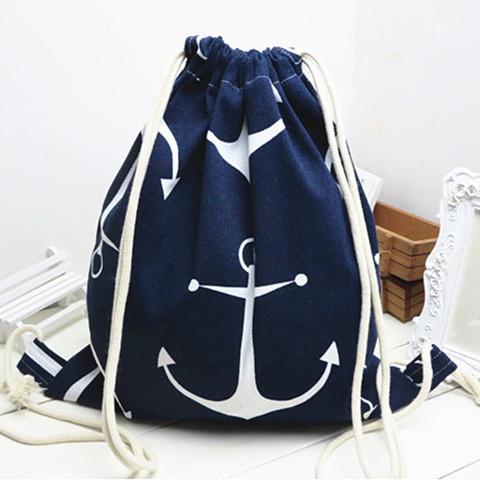 Рюкзак в морском стиле