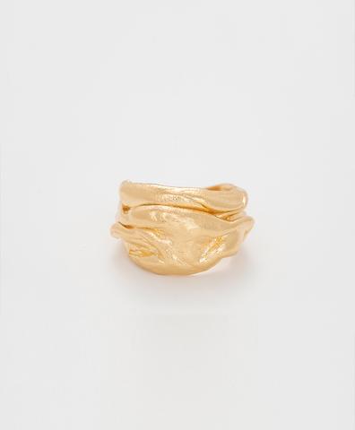 Кольцо KILANOVA gold plated