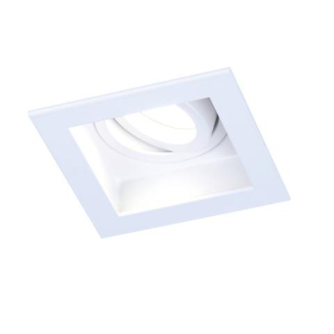 Встраиваемый поворотный светильник Ambrella TN180 WH белый GU5.3