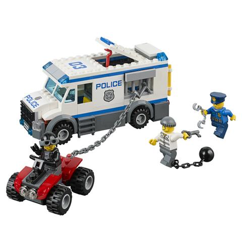 LEGO City: Автомобиль для перевозки заключённых 60043