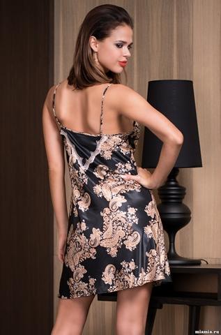 Сорочка женская шелковая Mia-Amore  Golden Flower 3300