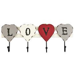 вешалка «love»  43x2x18 см