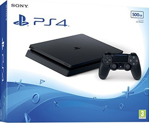 Sony PlayStation 4 Black Slim 500Гб (CUH-2208)
