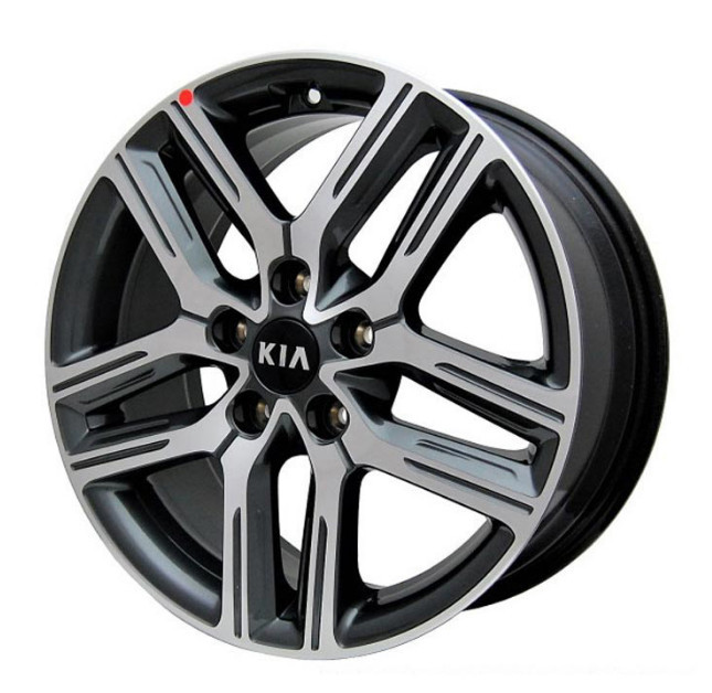 Диск колесный (17 дюймов) для KIA Cerato (2018 - 2019) 4pcs billet 4 lug 14 1 5 studs wheel spacers adapters for kia cerato