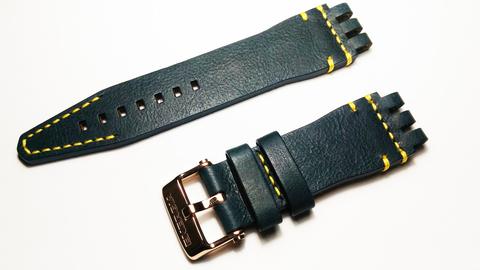 Кожаный ремешок для часов Восток Европа Энергия-2 NH35A/575O286