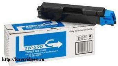 Картридж Kyocera TK-590C