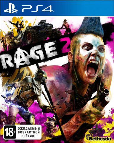Sony PS4 Rage 2 (русская версия)