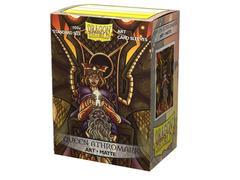 Dragon Shield - Матовые протекторы Queen Athromark 100 штук