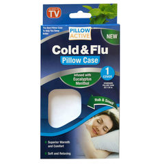 Антибактериальная наволочка для подушки Cold & Flu