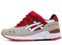Кроссовки мужские Asics GEL LYTE III Red Grey White