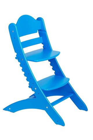 Детский растущий стул Два кота М1 Синий