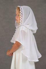 Неспадающий платок в церковь «Подснежник»