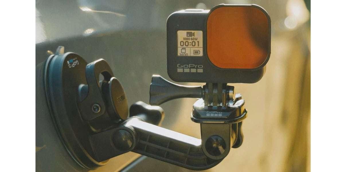 Набор фильтров PolarPro Cinema Series SHUTTER для HERO8 Black на присоске