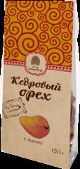 Смесь фруктово-ореховая, Сибирский Кедр, манго, кедровый орех, 150 г