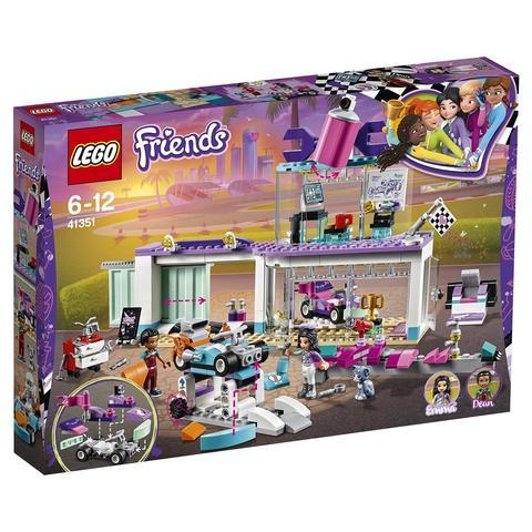 LEGO Friends: Мастерская по тюнингу автомобилей 41351 — Friends Tuning Shop — Лего Френдз Друзья Подружки