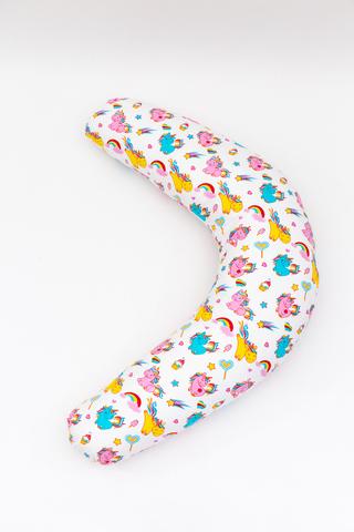 Подушка для беременных C190 (лебяжий пух) 10551 единорог