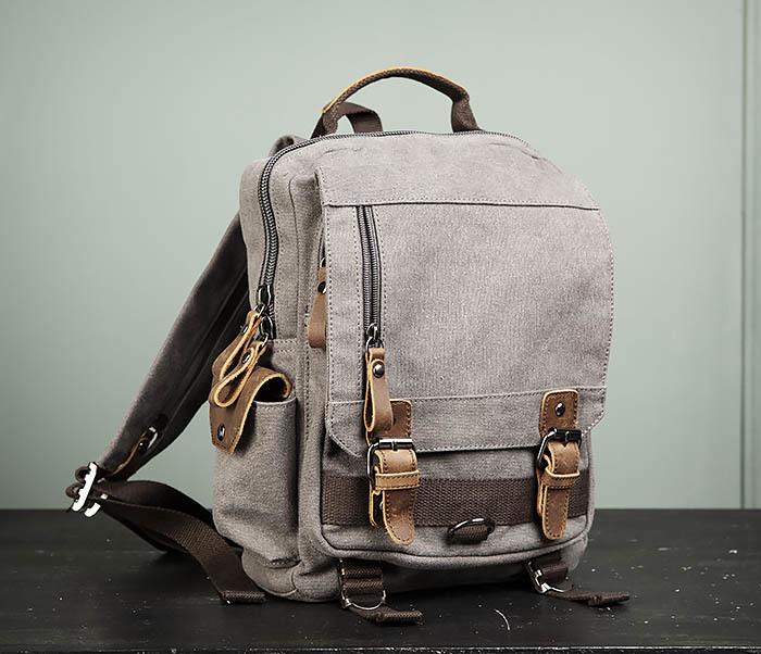 BAG476-3 Удобный мужской рюкзак с USB зарядкой фото 01
