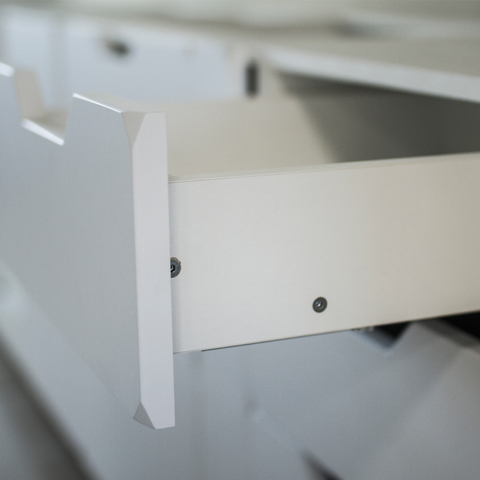 Напольный шкаф c 3 ящиками, 720х600 мм