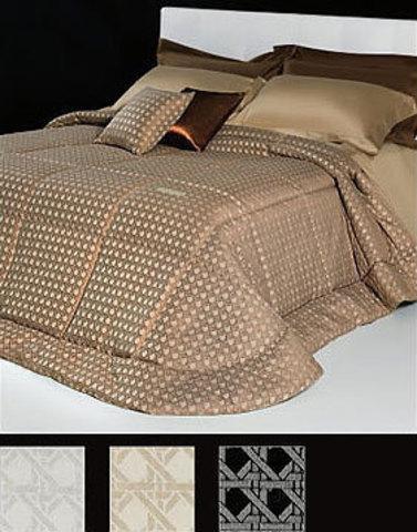 Постельное белье семейное Cesare Paciotti Vienna коричневое