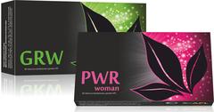 APL. Набор: аккумулированные драже APLGO GRW+PWR woman для женского здоровья, сохранения молодости и красоты