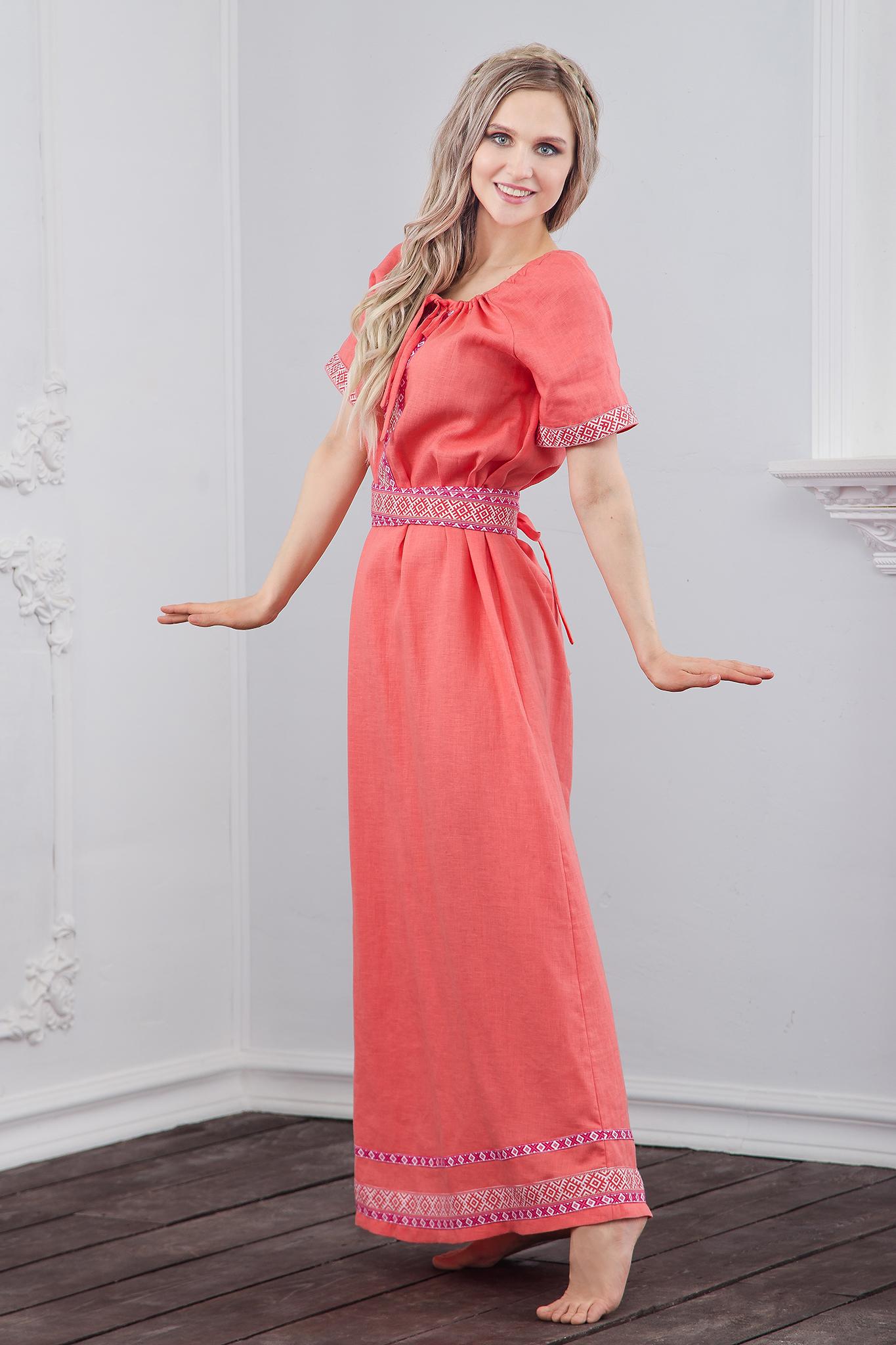 Льняное платье Сила младости