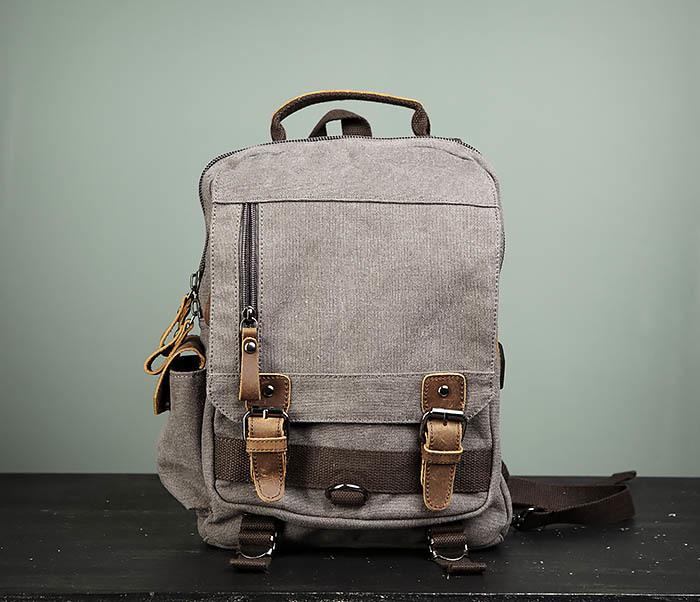 BAG476-3 Удобный мужской рюкзак с USB зарядкой фото 02