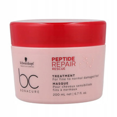 Маска спасительное восстановление Schwarzkopf BC Bonacure Peptide Repair Rescue Treatment Biomimetic