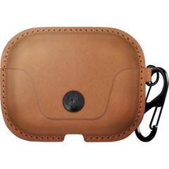 Чехол Twelve South AirSnap для зарядного кейса AirPods Pro, кожа, коричневый