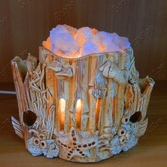 Солевая лампа Морская ваза