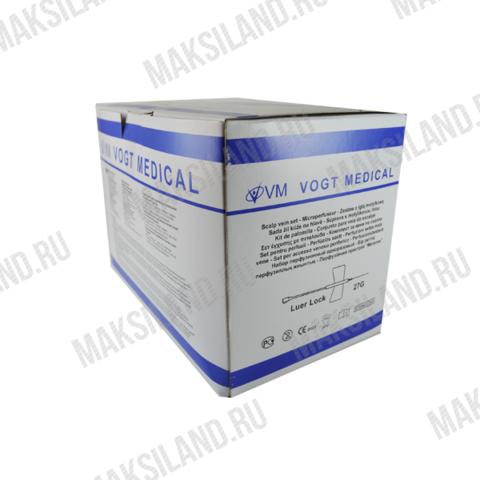 Устройство для вливания в малые вены 27G Игла-бабочка/100/2000/VOGT MEDICAL