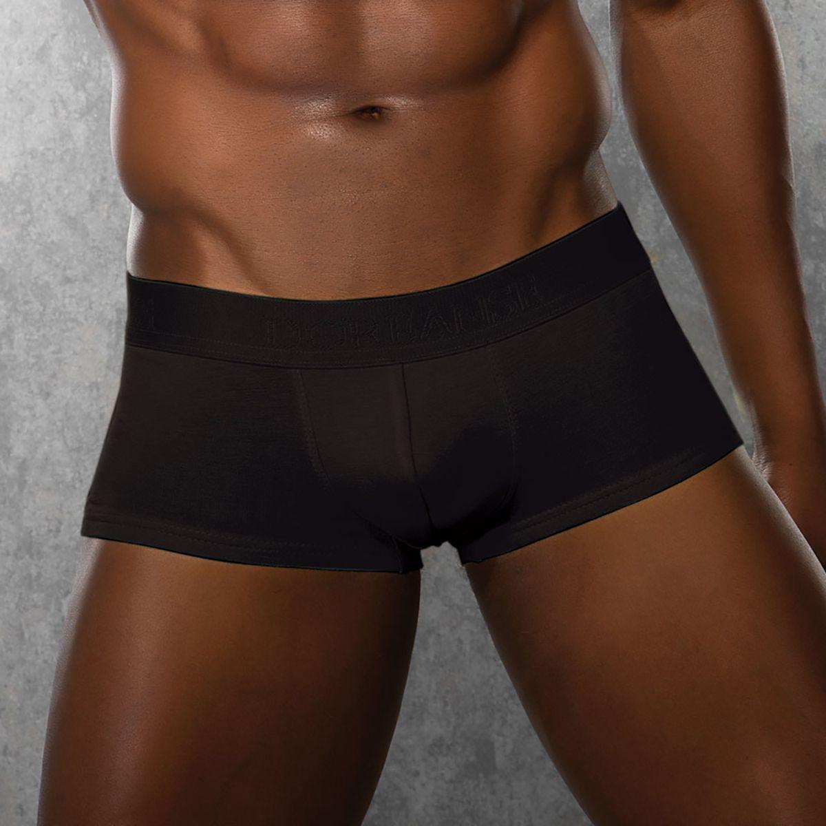Мужское белье: Укороченные полупрозрачные боксеры